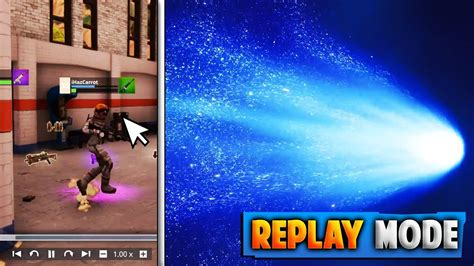 fortnite can t save replays you can go up to the meteor fortnite replay mode