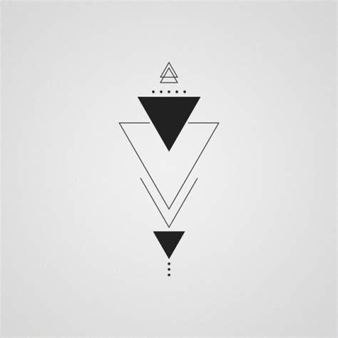 imagenes minimalistas tumblr triangle tattoos tumblr