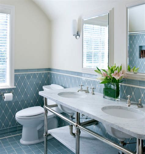 light blue bathroom tile ideas  pictures