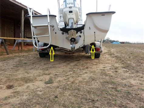 boat trailer bunks adjusting trailer bunks the hull truth boating and