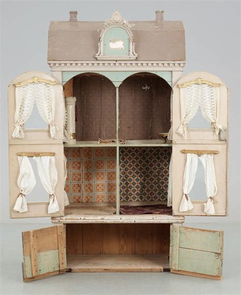 beautiful doll house such a beautiful vintage doll house fun things to make pinterest