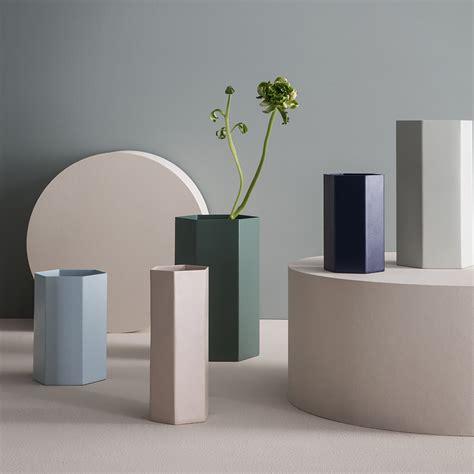Ferm Living Vase by Buy Ferm Living Hexagon Vase Dusty Green 12x21cm Amara