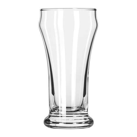 pilsner glass libbey 16 6 oz heavy base pilsner glass safedge guarantee