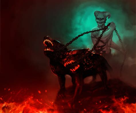 hound of hell hell hounds by benchi on deviantart