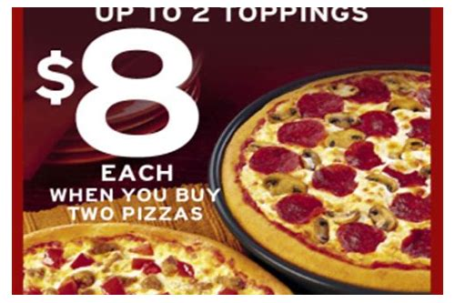 large pizza hut coupon