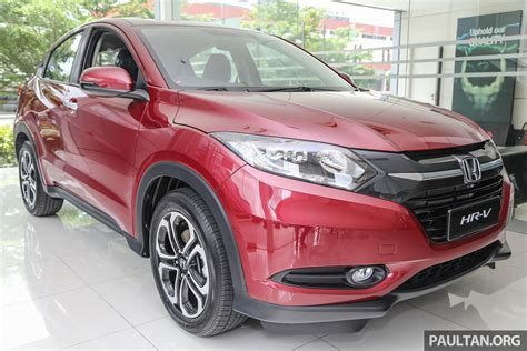 gallery honda hr v in ruby pearl colour