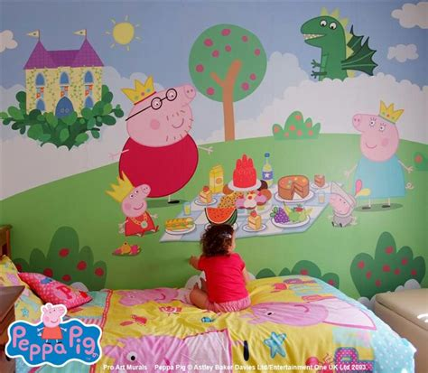 peppa pig wall mural peppa pig wall mural mural disney wall murals walls and bedrooms