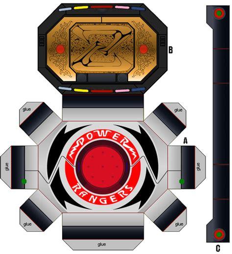 Power Rangers Morpher Papercraft - ranger mmpr fancy dress drunk punch love blog