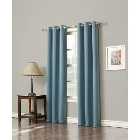 95 blackout curtains sun zero blackout gavin 95 in l blackout curtain panel in