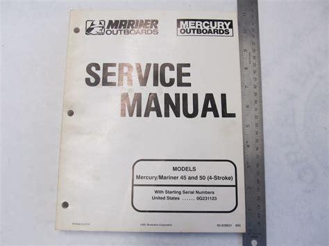 1995 Mercury Mariner Outboard Service Manual 45 50 Hp 4