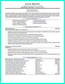 construction superintendent resume can be in simple design but it still looks like a
