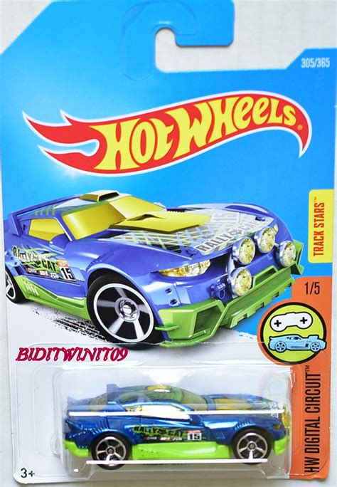 Wheels Hotwheels Rally Cat wheels 2017 hw digital circuit rally cat 1 5 blue