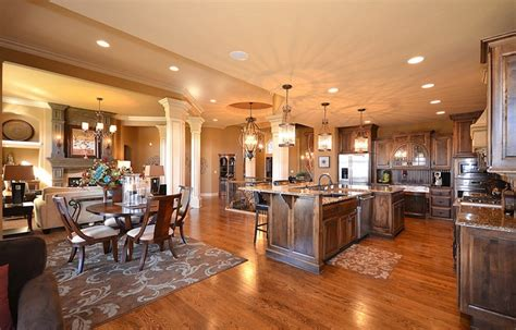 open floor plans for homes with nice open floor plans for kuchnia otwarta na salon mieszkaniowe inspiracje
