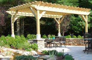 wood shade structure pergola and patio cover the gardeners