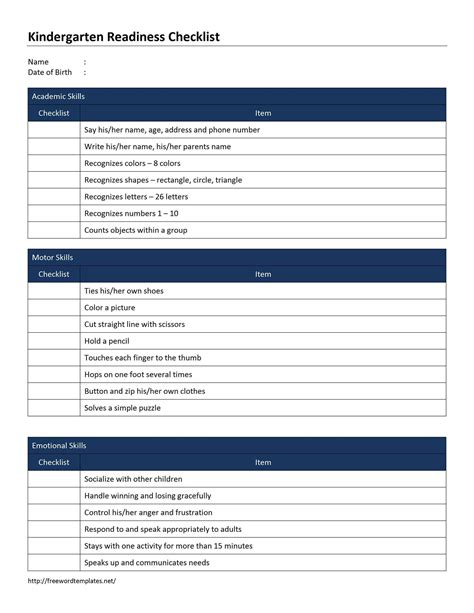 checklist template blank checklist template exle mughals