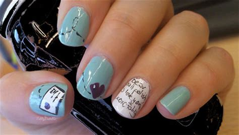 easy nail art heart simple valentine s day nail art designs ideas for