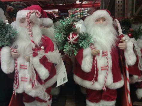 santas for sale at home depot santas at a home depot