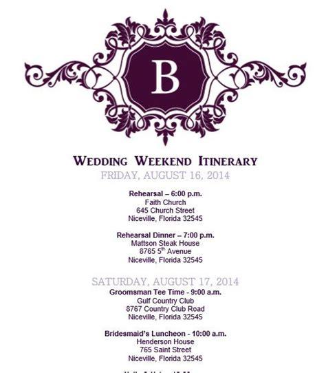 free wedding day itinerary template wedding itinerary wedding itinerary template bridetodo