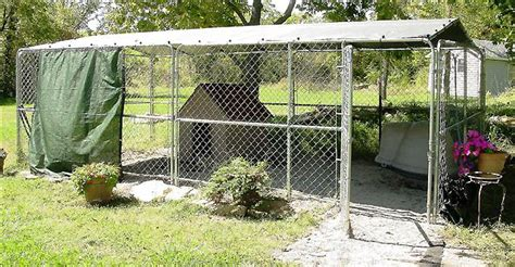 10x20 kennel kennel roof cover kit 10 x 20 northern u s