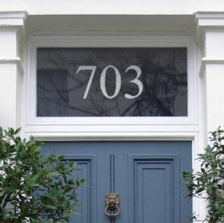 glass front door numbers purlfrost door number home inspiration