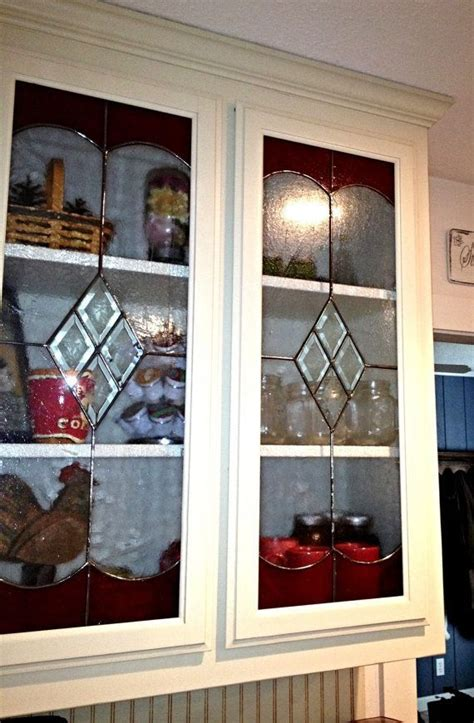 kitchen cabinet doors with diamond bevels architectural leaded glass in the kitchen cabinet diamond bevels in the