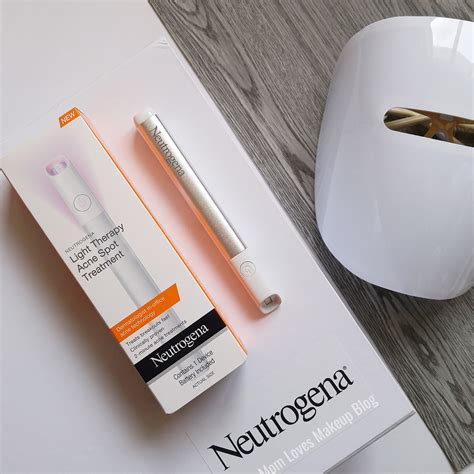 neutrogena light spot treatment makeup neutrogena light therapy acne spot