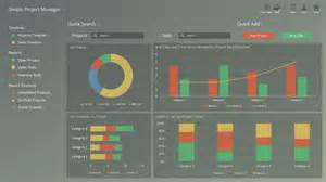 Project Portfolio Dashboard Template by Rag Project Status Dashboard For Powerpoint Slidemodel