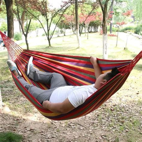 Hammock For Two 280 150cm Portable Outdoor Leisure Traveling Cing
