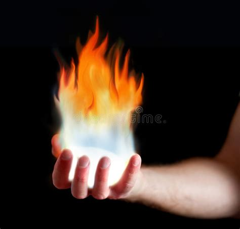 how to light your hand on fire hand on fire stock photo image of heat light energy