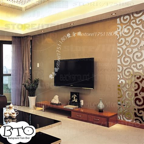 Home Decor Tv Wall Diy Auspicious Clouds Pattern Traditional 3d Decoration Mirror Wall Home Decor