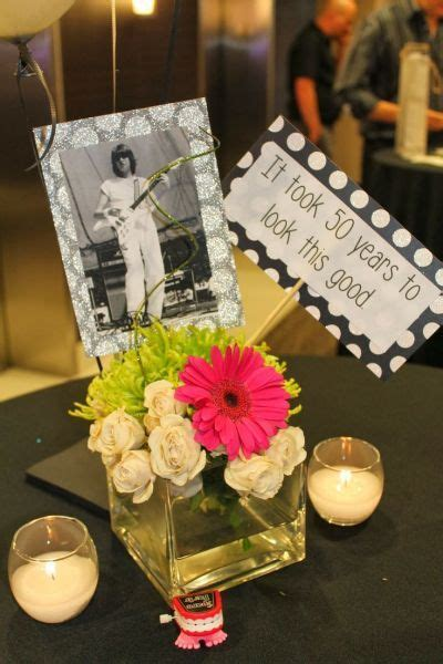 centerpiece ideas for 50th birthday 25 best ideas about 50th birthday decorations on