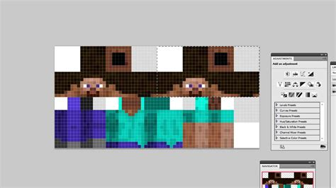 Minecraft Papercraft Skin Maker - how to make a minecraft character skin 3d textures