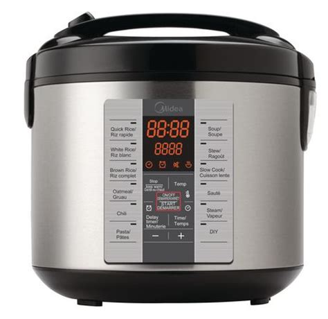 Rice Cooker Digital midea digital rice cooker walmart ca