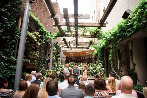 downtown philadelphia wedding at talula s garden