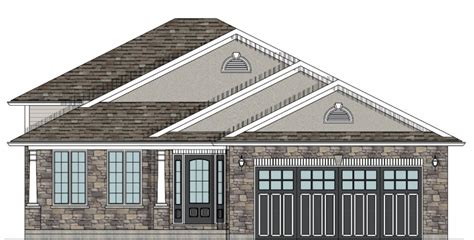 front to back split house house plans canada stock custom
