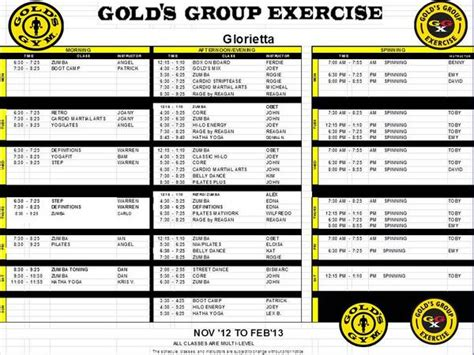 golds gym the fan schedule goldsgymphilippines on twitter quot gold s gym glorietta ggx