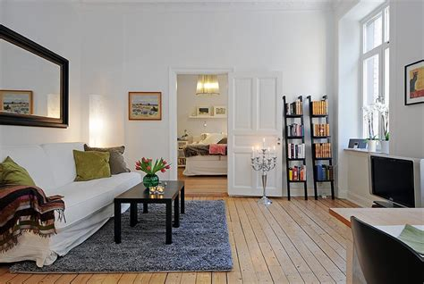 Swedish 58 Square Meter Apartment Interior Design With Apartment Interior Design Ideas