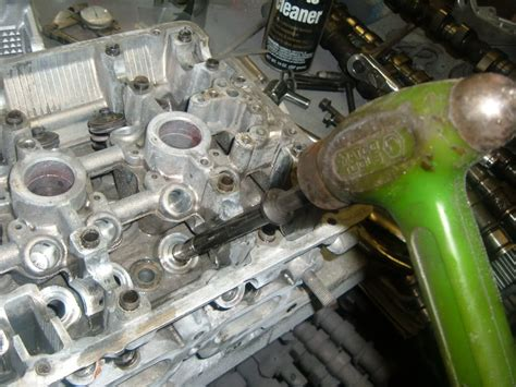 how to remove and replace valves on a cylinder head on any how to change valve guides in an alumimum cylinder head miata turbo forum boost cars