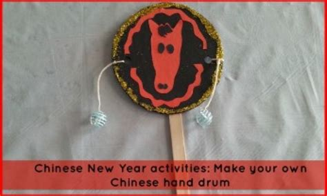new year drum new year activities make your own