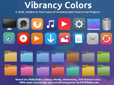 themes e63 keren cara instal vibrancy color icon theme di ubuntu linux mint
