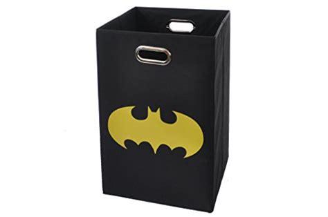 Batman Shield Folding Laundry Basket Black Import It All Batman Laundry