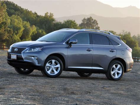 suv lexus 2014 2014 lexus rx 350 luxury suv road test and review