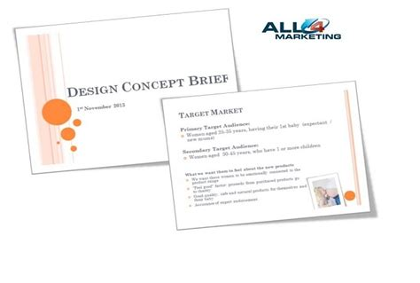 Design Brief Concept | send you a design brief template in powerpoint fiverr