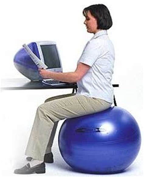 Exercise As Desk Chair by For Boomers And 50 50somethinginfo