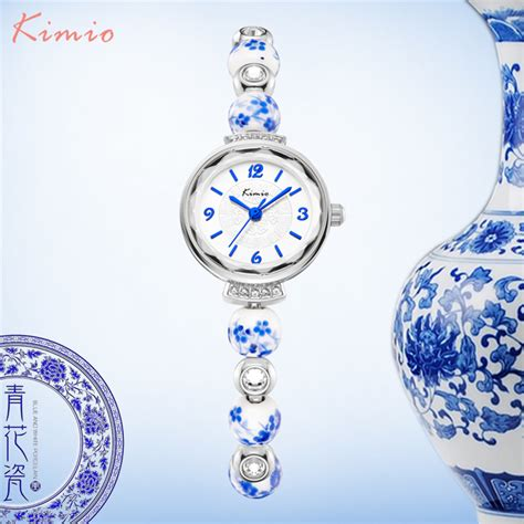 blue pattern porcelain kimio retro really chinese ceramic watch blue and white