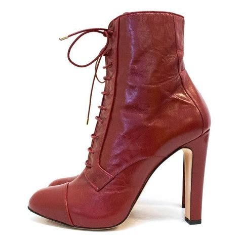 bionda castana lace up heel boots for sale at 1stdibs