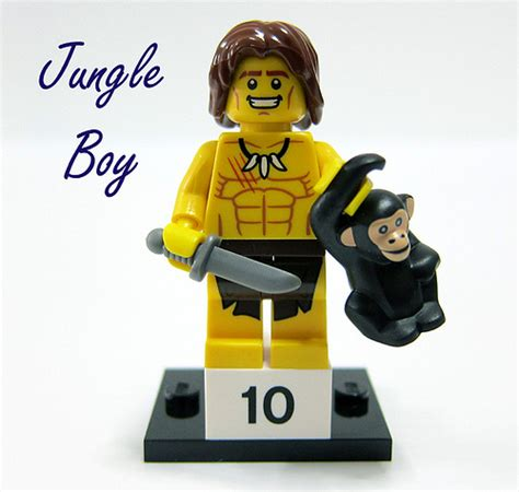 Series 7 10 Jungle Boy new lego minifigures series 7 blind mystery foil bag