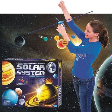 3d Solar System Kit 3d solar system mobile craft kit educational toys planet