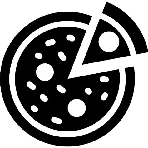 pizza free food icons