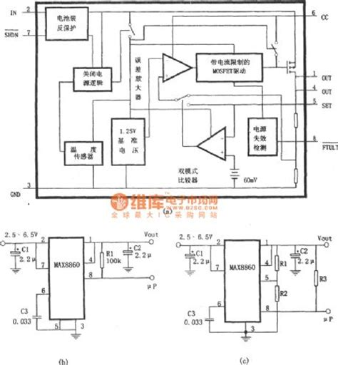 linear integrated circuit diagram low noise linear voltage regulator integrated circuit made by max8860 power supply circuit